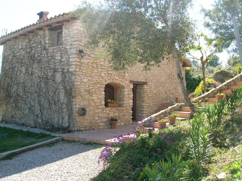 Casa rural tarragona costa dorada mas fau for Casa rural tarragona